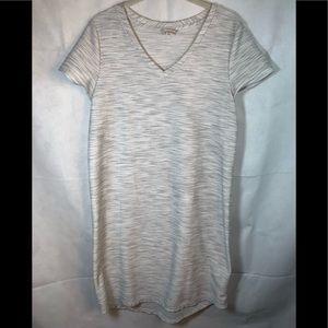 MERONA Gray short sleeve dress knee length medium